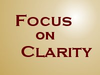 Focus on Clarity: Clear, focused writing and instructional services for the South Shore of Nova Scotia